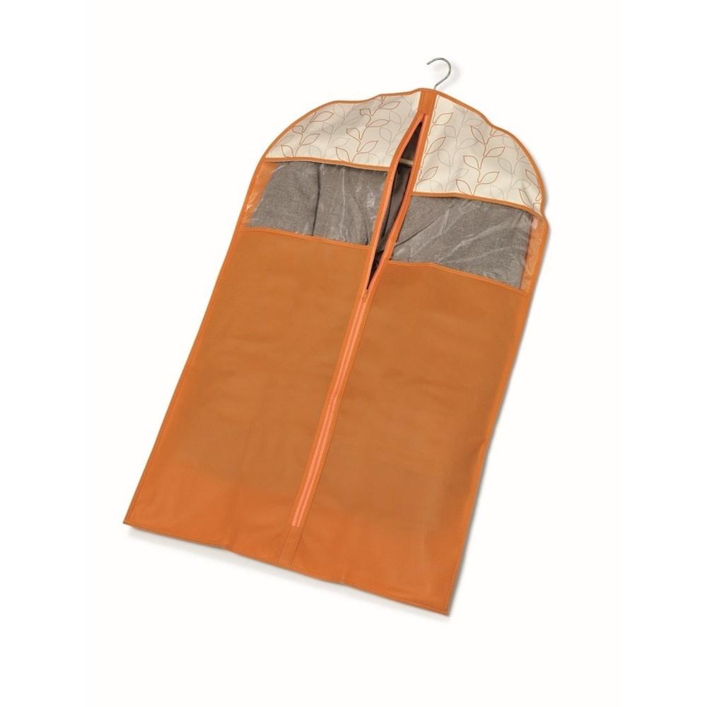 Oranžový obal na šaty Cosatto Bloom, dĺžka 100cm