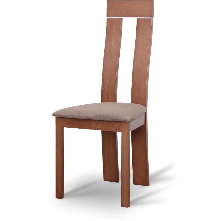 TEMPO KONDELA DESI jedálenská stolička - čerešňa / hnedá
