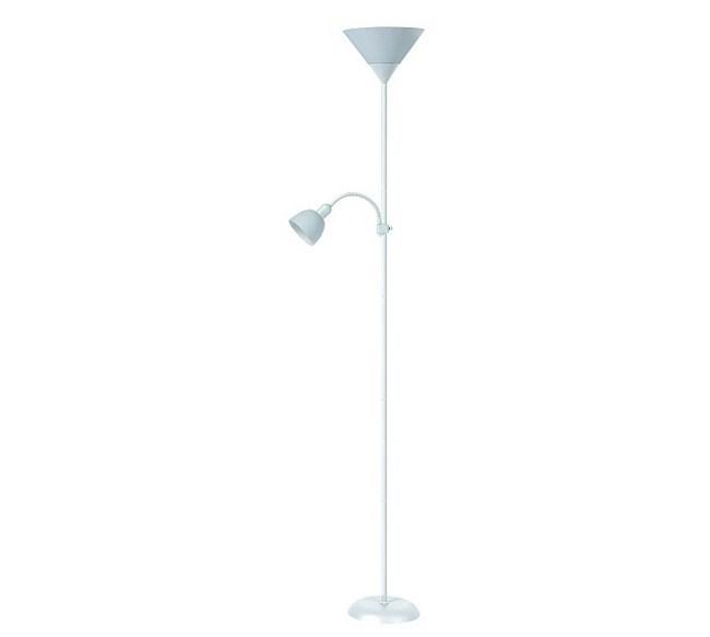 Stojaca lampa Rabalux Action 4061 biela
