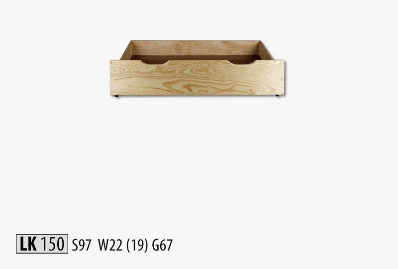 LK150 Zásuvka pod posteľ