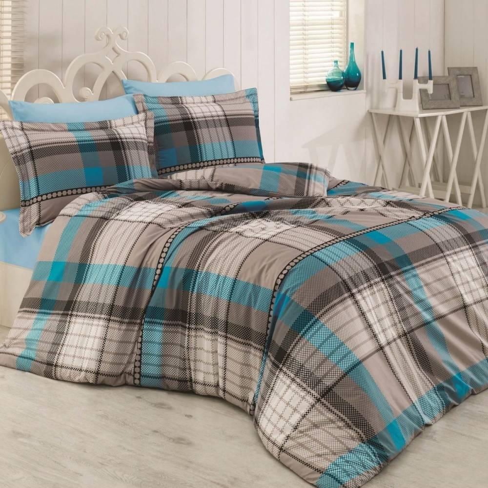 Kvalitex Bavlnené obliečky Delux Stripes square, 200 x 200 cm, 2 ks 70 x 90 cm