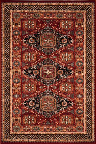 Osta carpets Koberec Kashqai 4308 300 červený 67x130cm