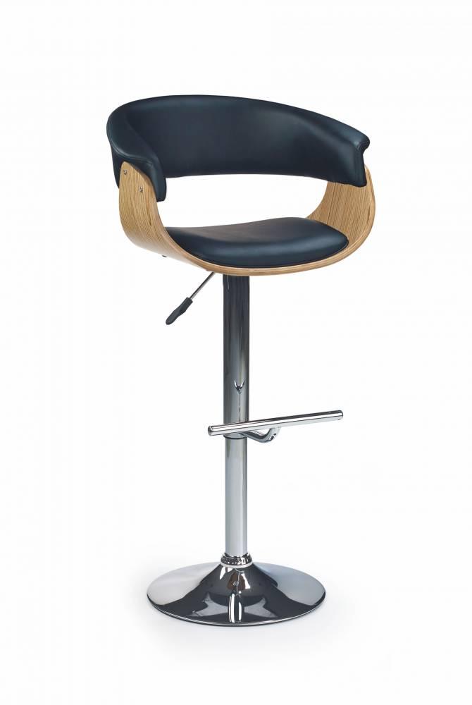 Barová stolička H 45 Dub
