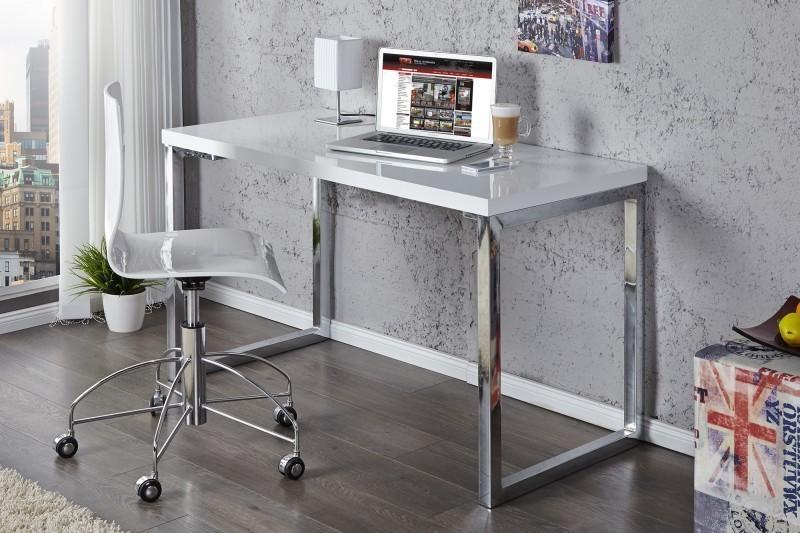Písací stôl DESK - biela