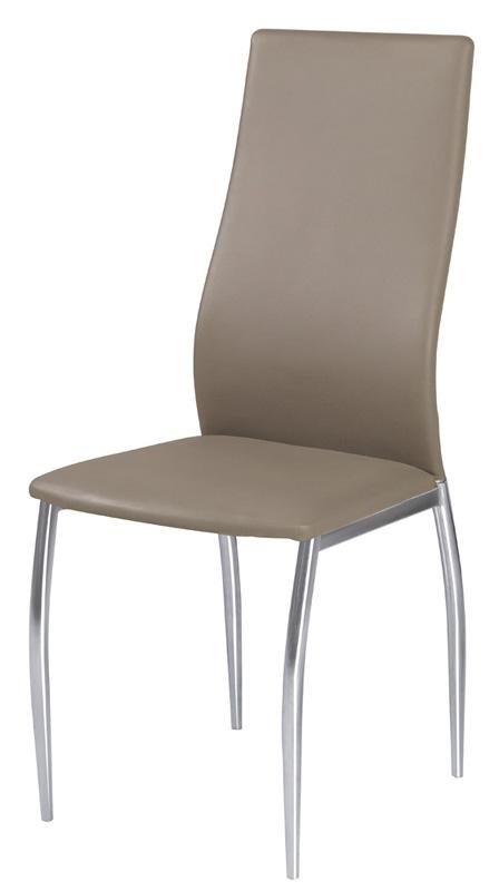 Stolička HK-801 , tmavo béžová