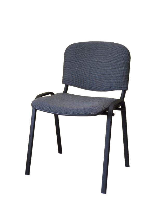 Čalúnená stolička ISSO, šedá