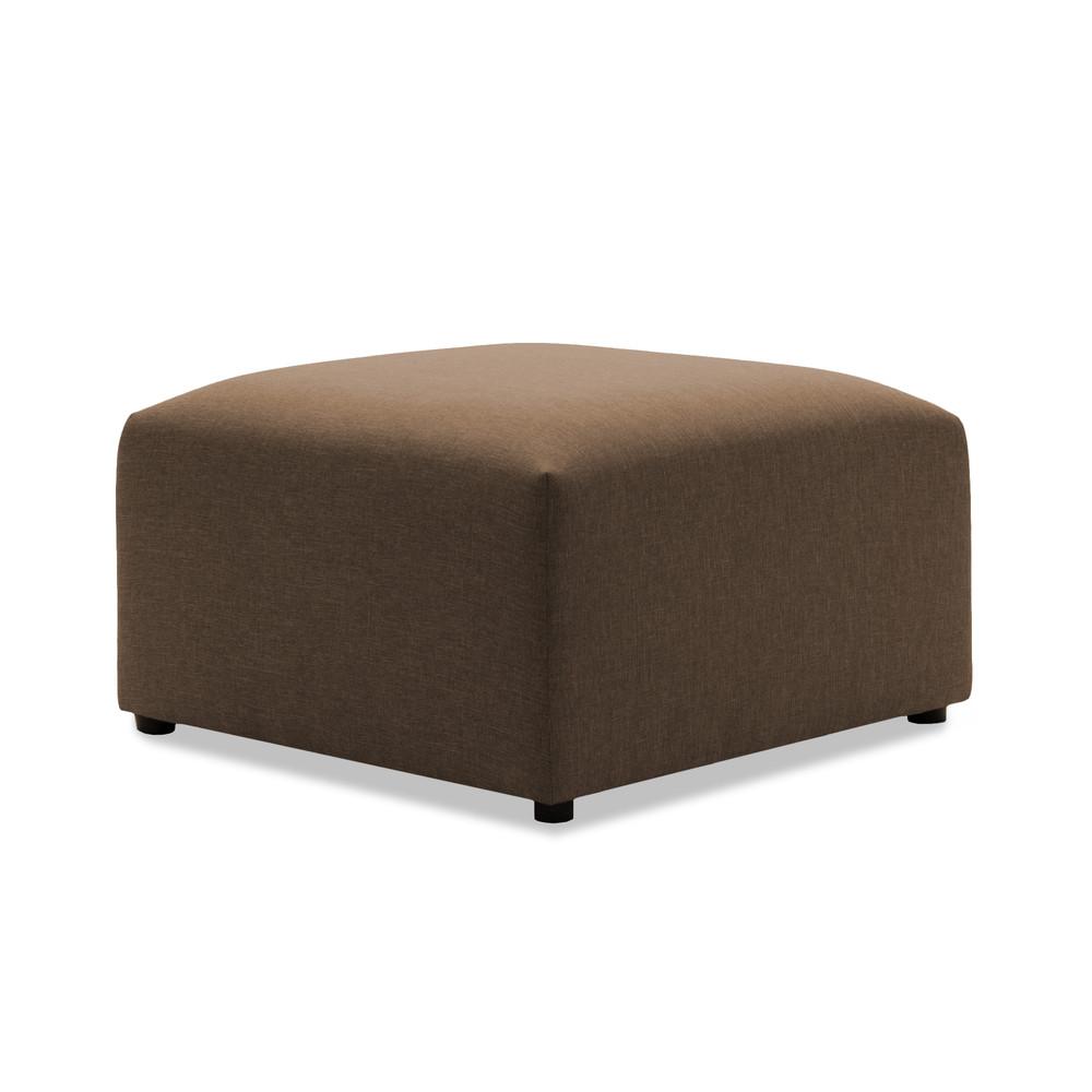 Tmavobéžová podnožka VIVONITA Cube