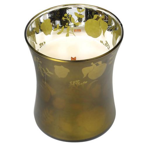 Vonná sviečka WoodWick Košík jabĺk, 255 g, 60 hodín