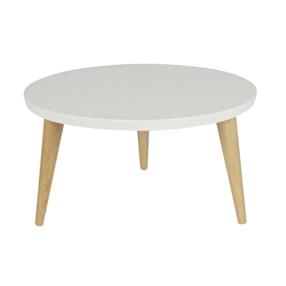 Odkladací drevený stolík De Eekhoorn Elin, 50 cm