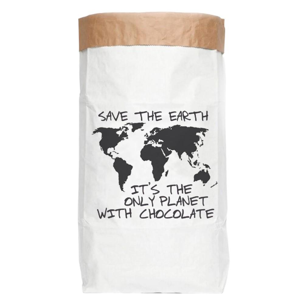 Papierové úložné vrece Really Nice Things Chocolate