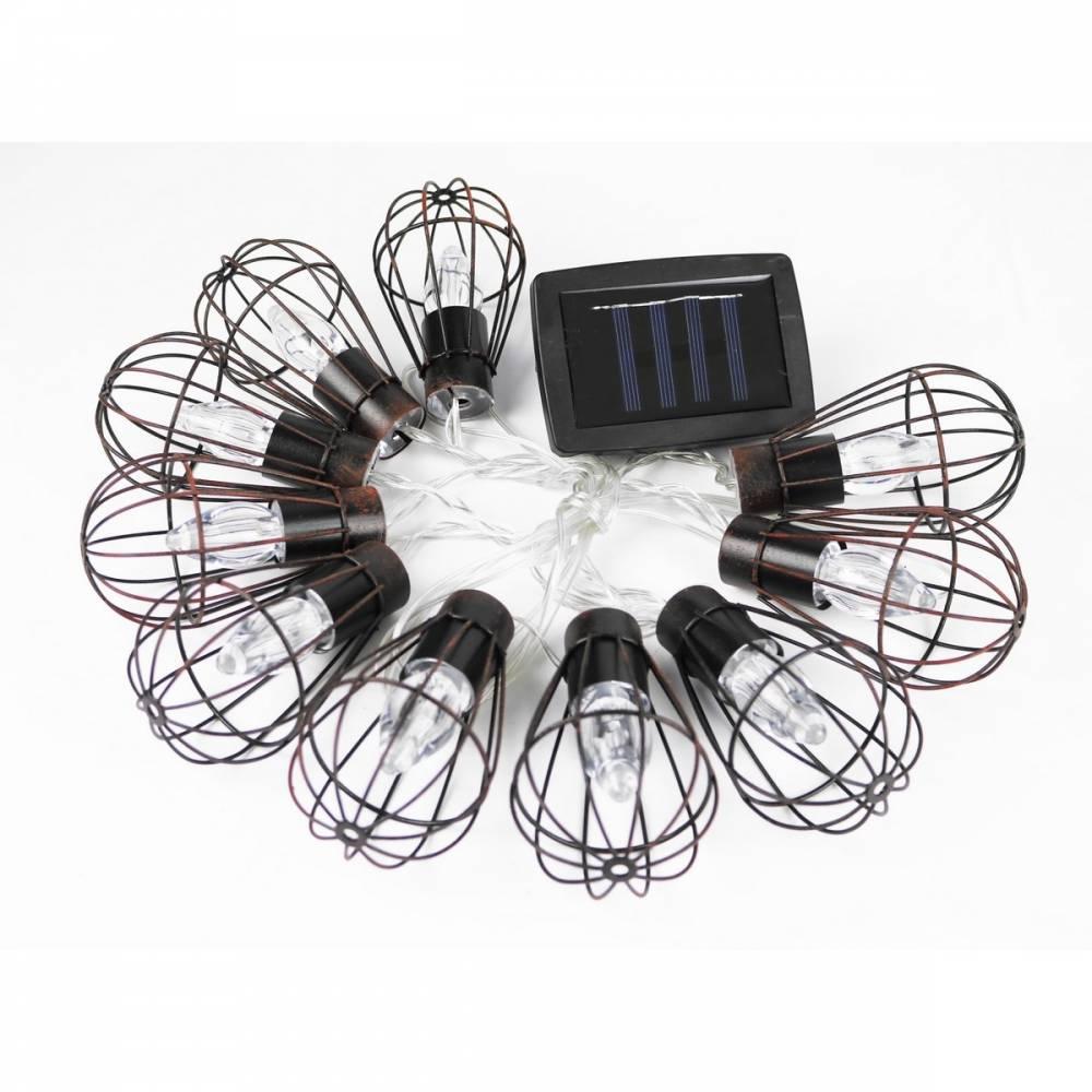 Solárne osvetlenie Lampáše, 10 LED