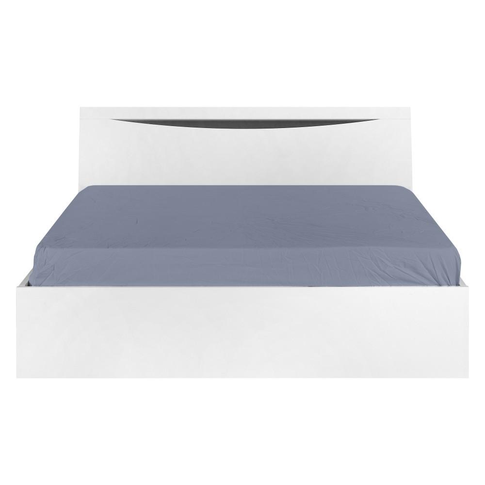 Biela posteľ Artemob Letty, 160×200 cm