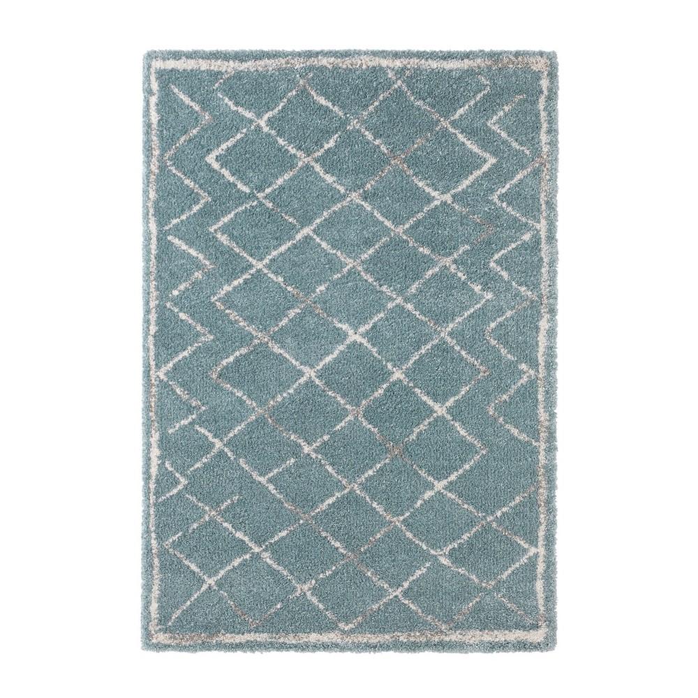 Modrý koberec Mint Rugs Belle, 80x150cm