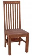 Furniture nábytok  Masívna stolička z Palisanderu  Pažmán  45x45x110 cm