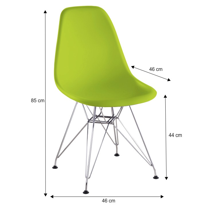 Jedálenská stolička Anisa new (zelená)