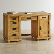 Masívny písací stôl 135x64x80