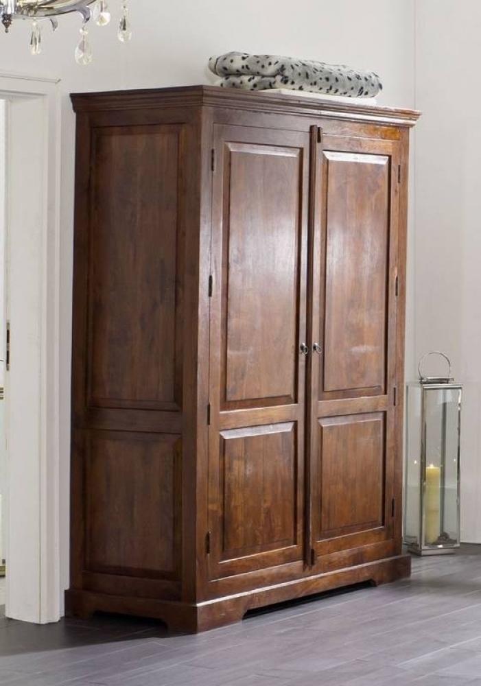 OXFORD #436 Kolonial skriňa na oblečenie, masívny agátový nábytok
