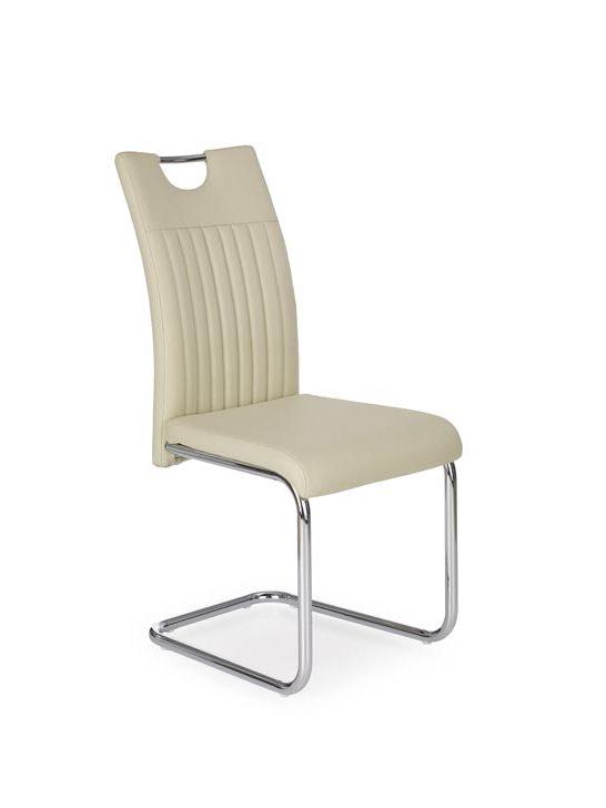 Jedálenská stolička K258 (krémová)