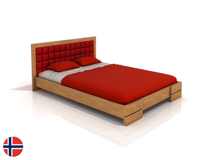 Manželská posteľ 200 cm Naturlig Storhamar (buk) (s roštom)