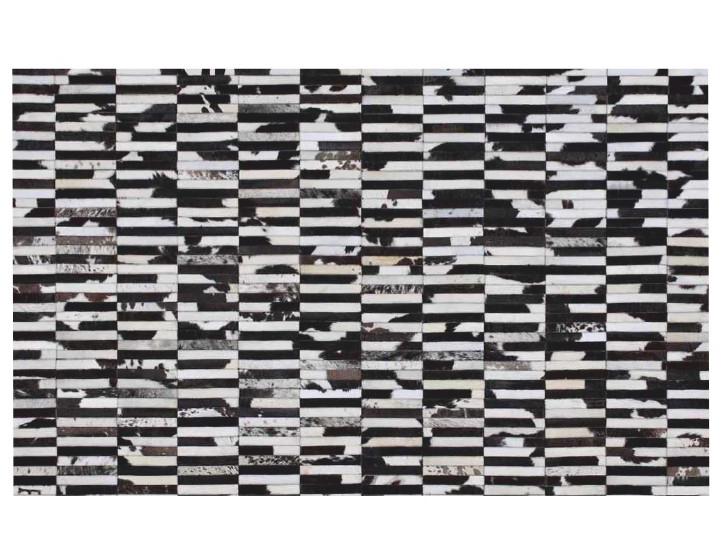 Kožený koberec TYP 06 (hovädzia koža + vzor patchwork)