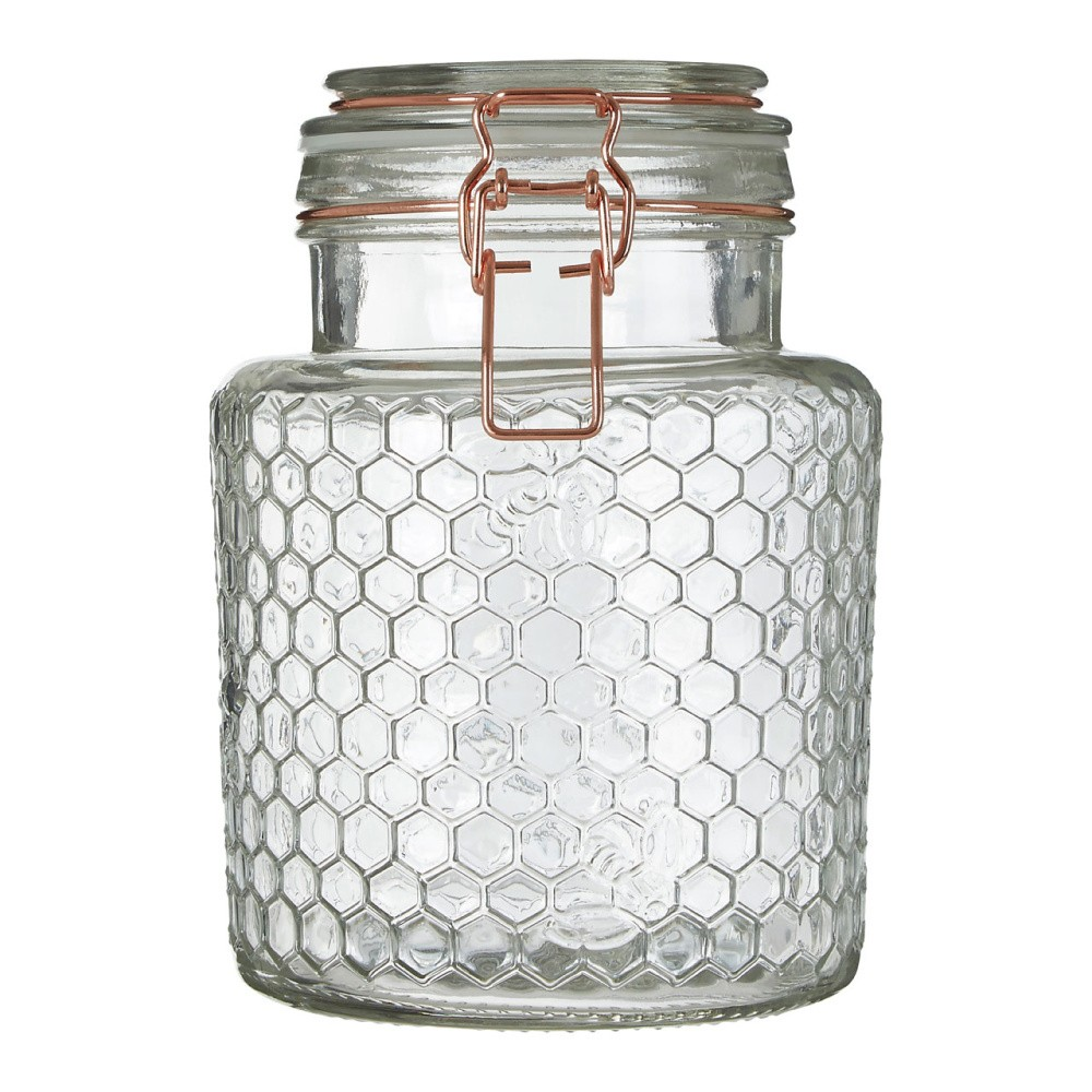 Sklenená dóza Premier Housewares Jar, 13×18 cm
