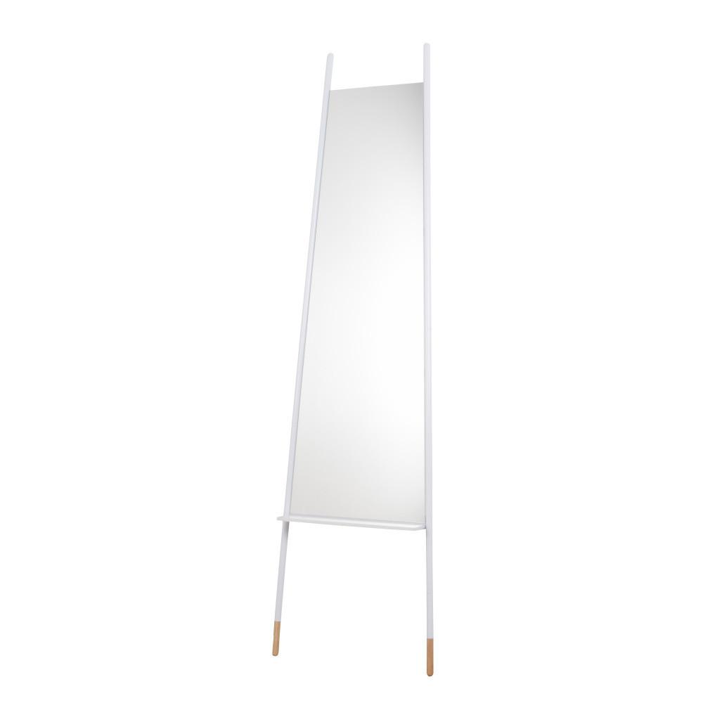 Biele zrkadlo Zuiver  Leaning, 171 cm