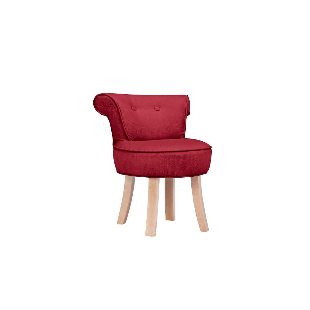 Červená detská stolička KICOTI Sweety