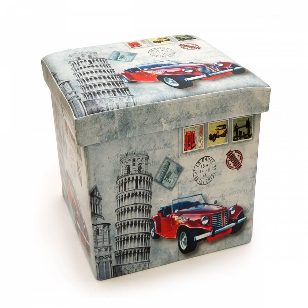 Skladací sedací box s potlačou Taliansko