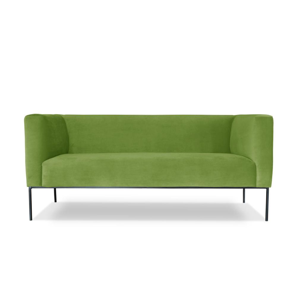Zelená dvojmiestna pohovka Windsor & Co. Sofas Neptune