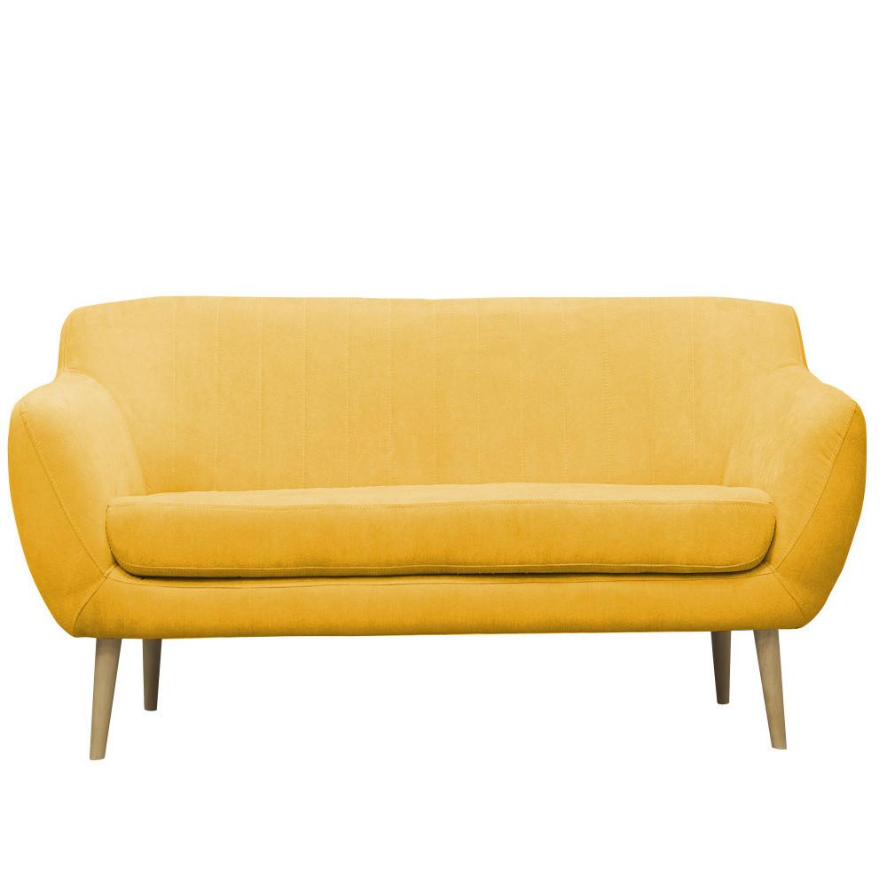 Žltá pohovka pre troch Mazzini Sofas Sardaigne