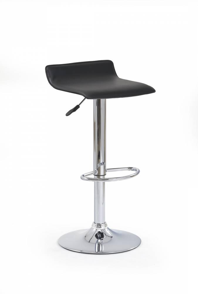 Barová stolička H-1 čierna
