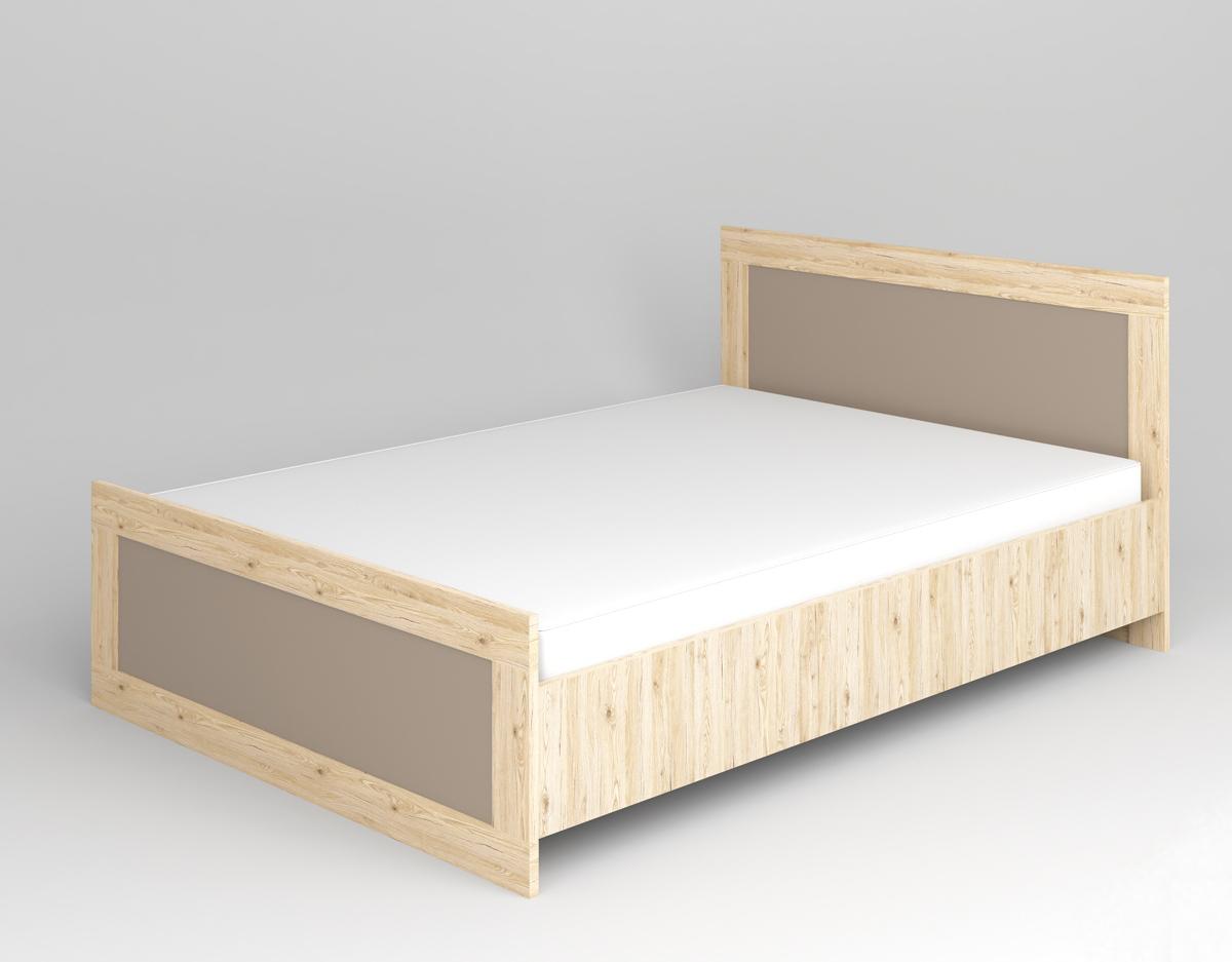 ML MEBLE MODERN 15 140 posteľ - dub San Remo / grafit