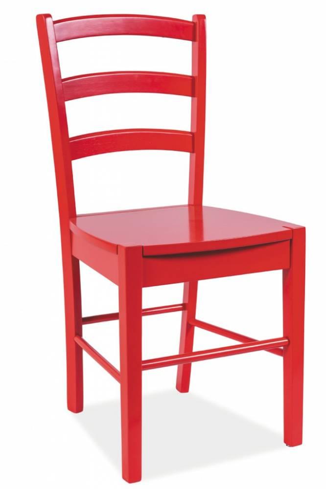 SIGNAL CD-38 jedálenská stolička - červená