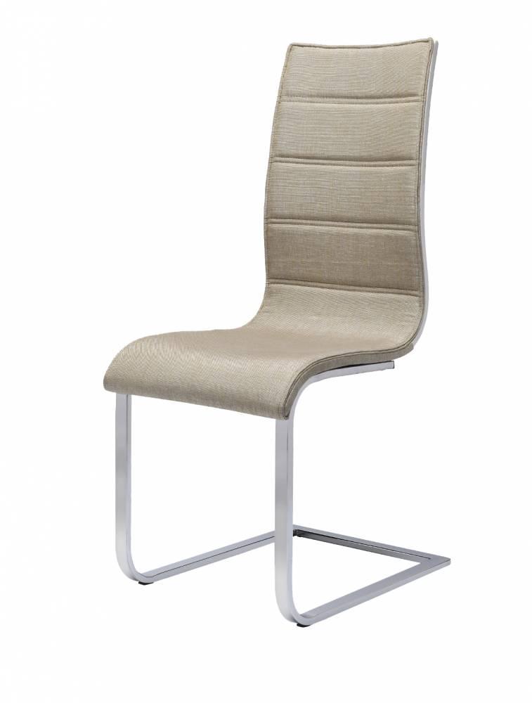 Jedálenská stolička K104 (béžová + biela)