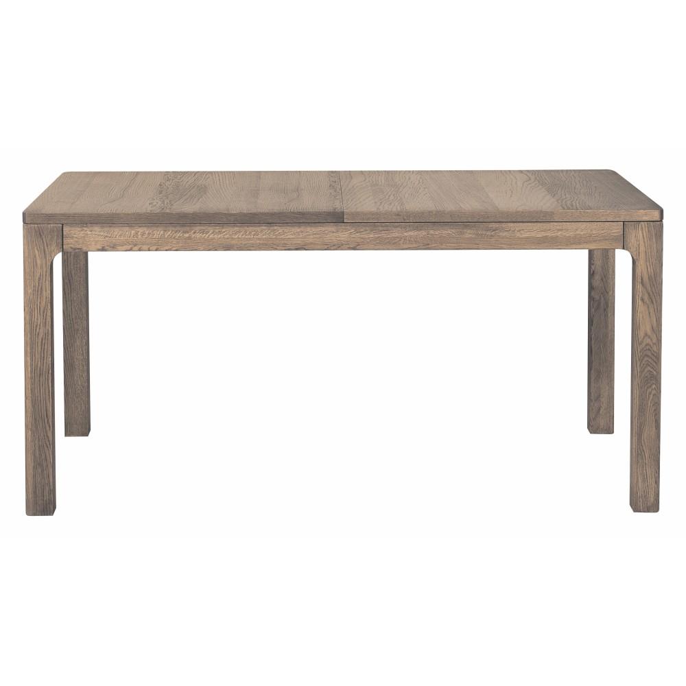 Rozkladací jedálenský stôl v drevenom dekore dymového duba Szynaka Meble Negro