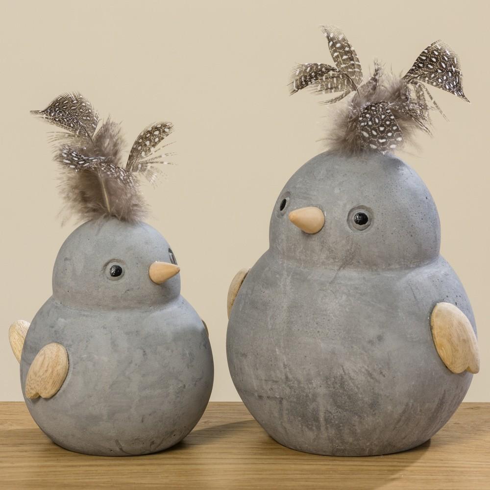 Sada 2 dekoračných vtáčikov Boltze Fips