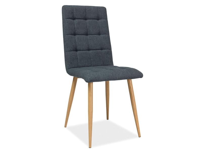 MOTTO jedálenská stolička, dub/sivá