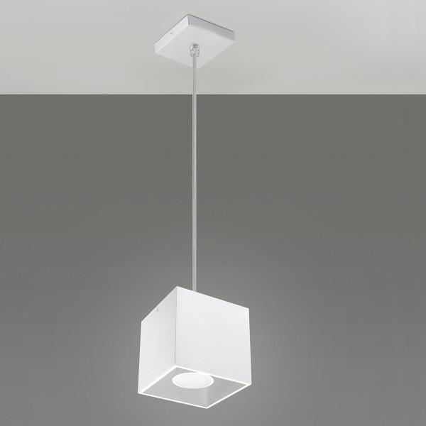 Závesné svetlo Nice Lamps Geo 1 White