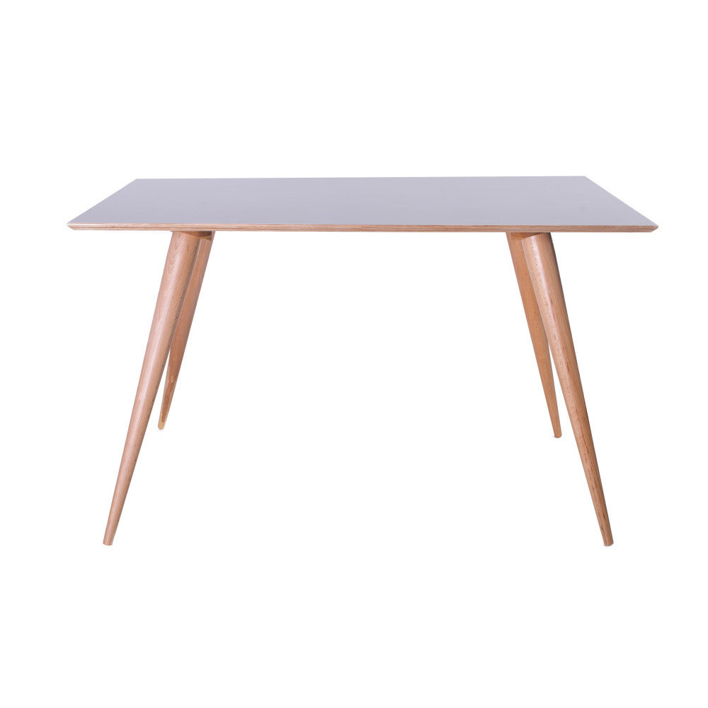 Sivý jedálenský stôl Ragaba Planet Rectangular