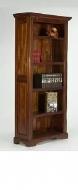 Furniture nábytok  Masívna polica / knižnica z Palisanderu  Solejmán  100x40x200 cm