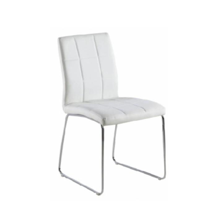 Jedálenská stolička Sida (biela)