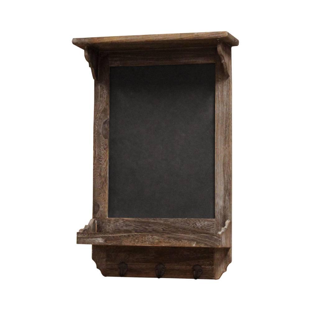 Poznámková tabuľa hnedá antik
