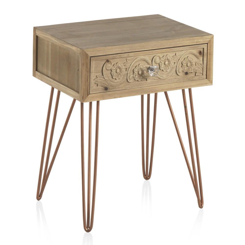 Nočný stolík so zásuvkou Geese Lisboa