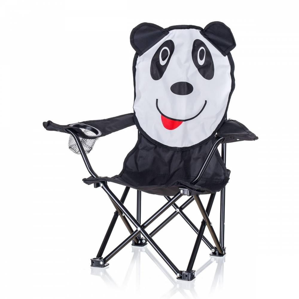 Happy Green Detské skladacie kreslo Panda