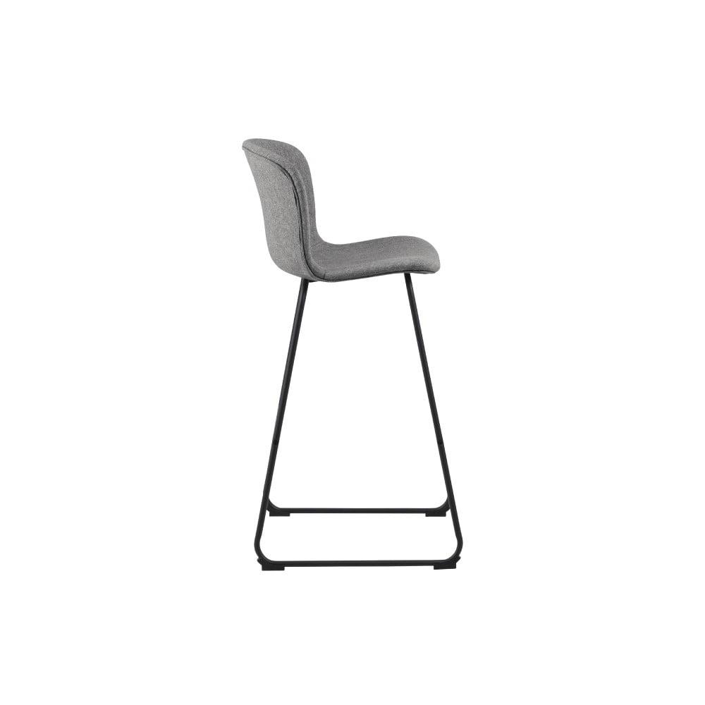 Sivá barová stolička Interstil Story