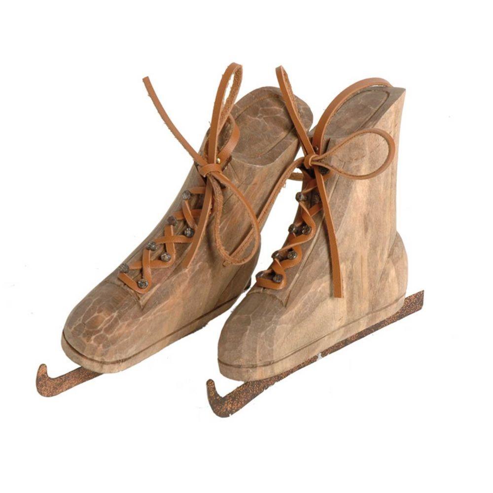 Dekorácia vintage korčule Antic Line