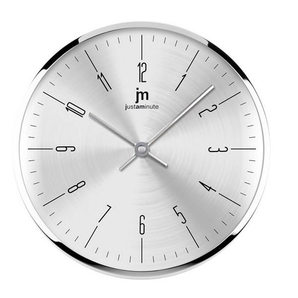 Lowell 14949S nástenné hodiny, pr. 26 cm