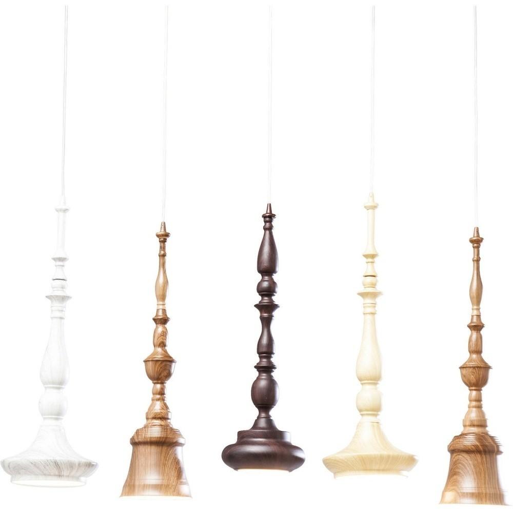 Závesné svietidlo s 5 objímkami Kare Design Tornito Dinning