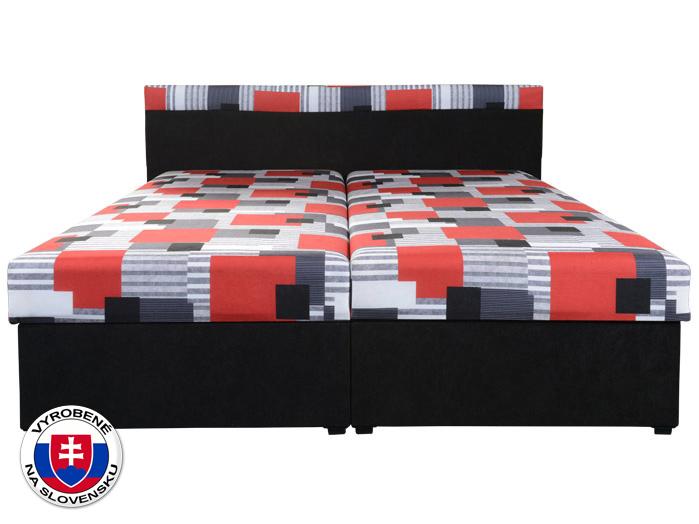 Manželská posteľ 160 cm Carmen (s molitanovým matracom)