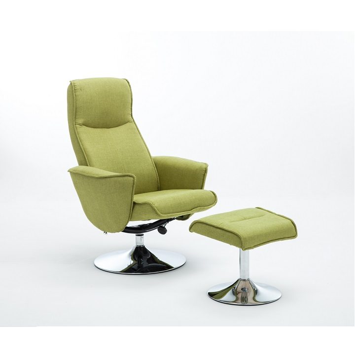 Relaxačné kreslo Lonato (zelená)